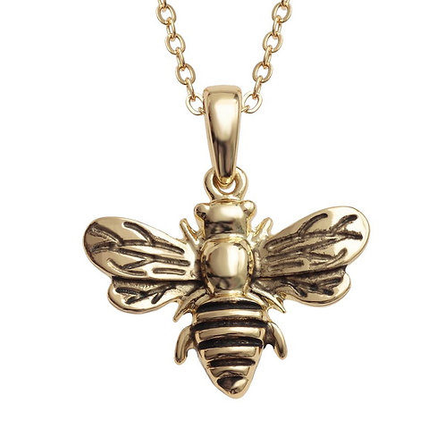 Bee Pendant Gold or Silver tone