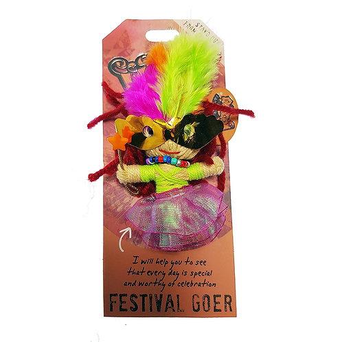 Festival Goer Watchover Voodoo Doll