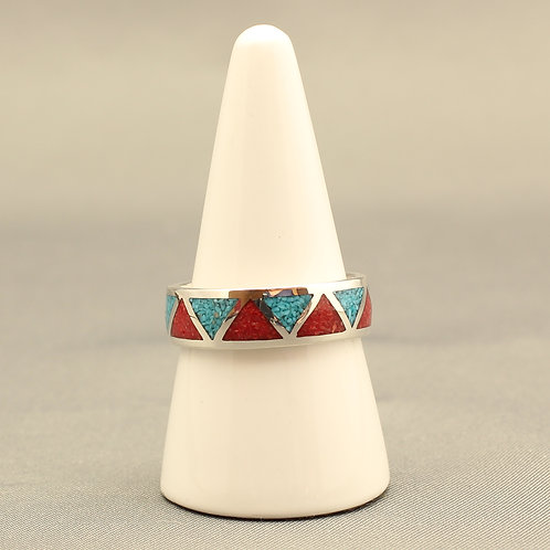 Turquoise and Coral Band