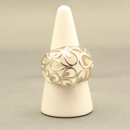 Domed Paisley Ring