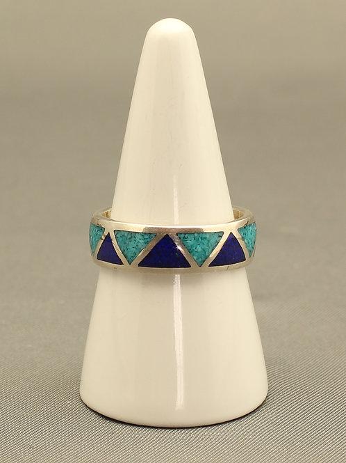 Turquoise and Lapis Lazuli Band