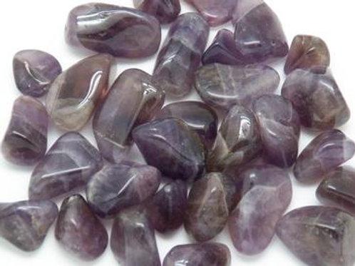 Auralite Amethyst Tumblestone