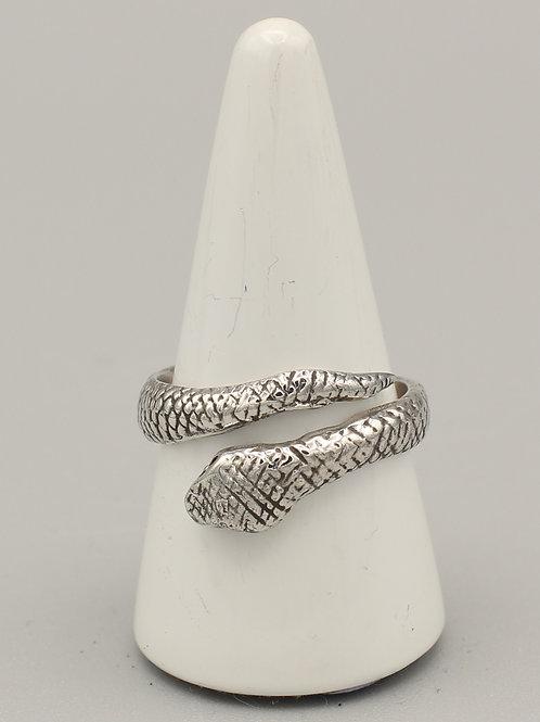 Wrap-around Snake Ring