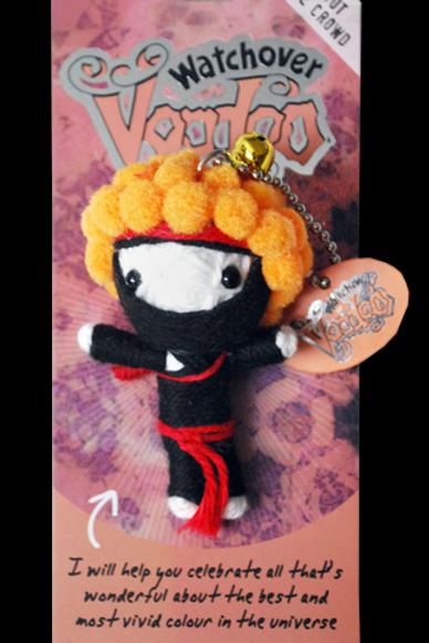 Ginja Ninja Watchover Voodoo Doll