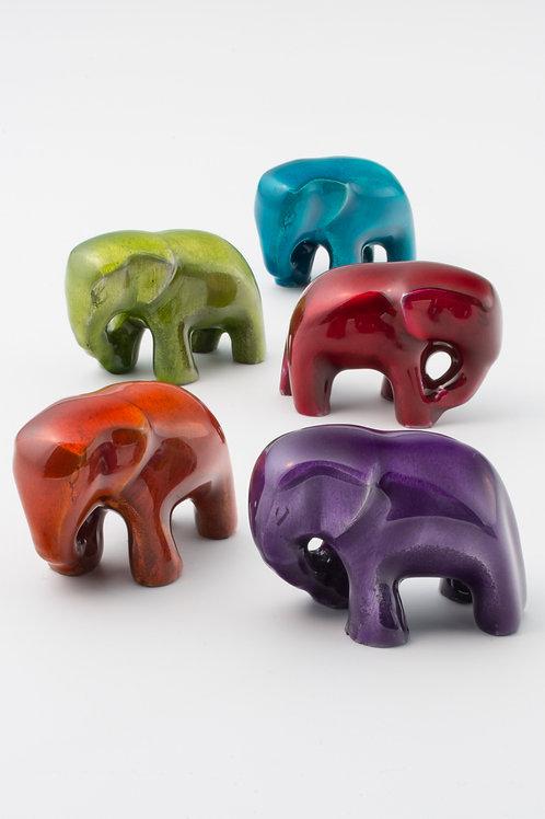 Recycled Aluminium Elephants