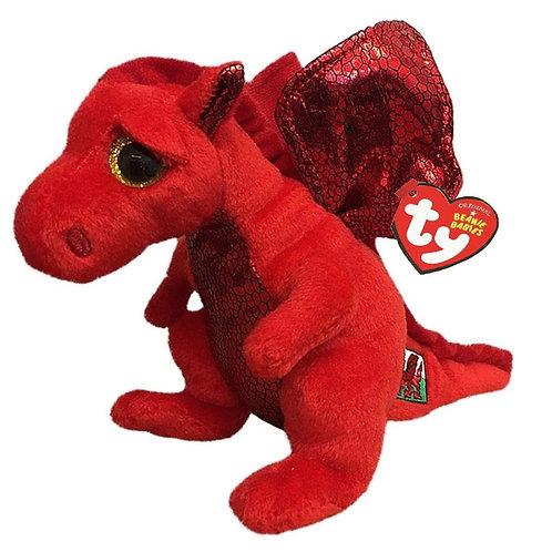 Y Ddraig Goch Welsh Dragon Ty Beanie