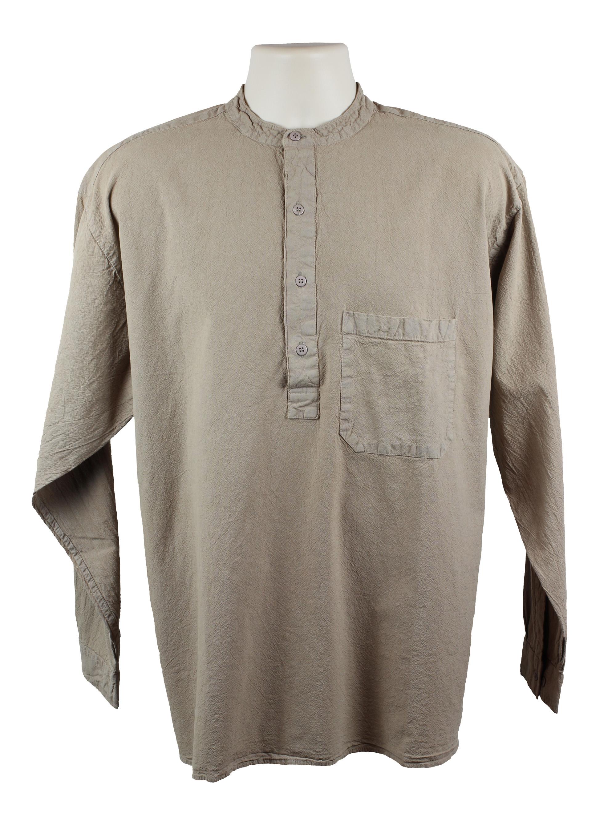 Stone Grandad Shirt
