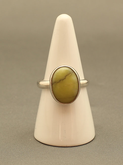 Scottish Green Marble Ring