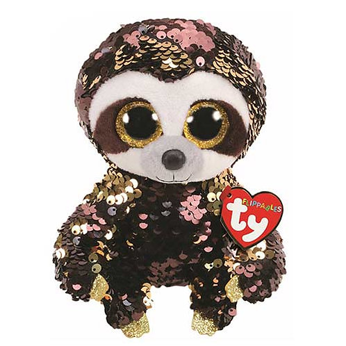 Dangler the Sloth Flippable Ty Beanie Boo