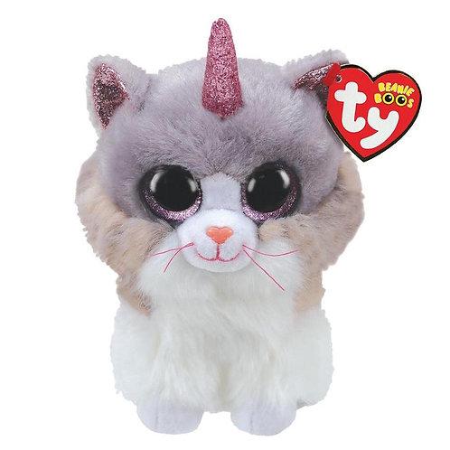 Asher the Unicorn Cat Ty Beanie Boo