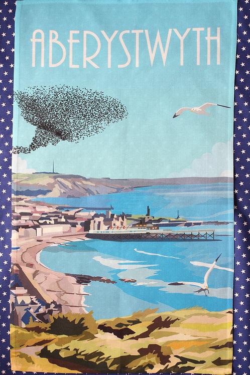 Aberystwyth Tea Towel
