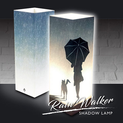 Rain Walker Shadow Lamp