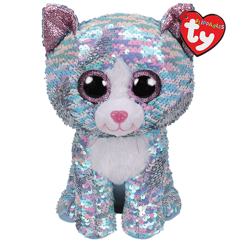 Whimsy the Cat Flippable Ty Beanie Boo