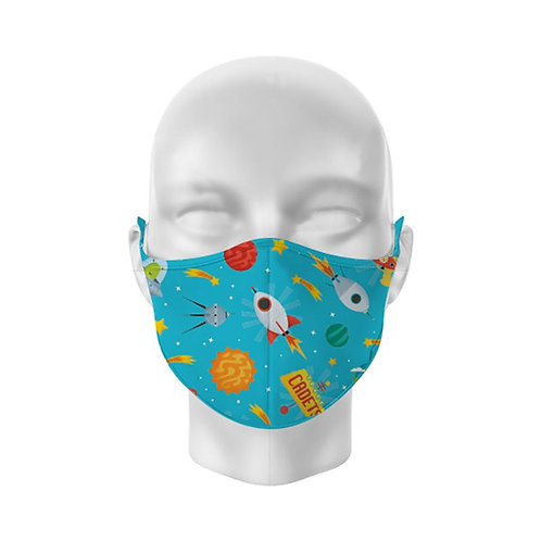 Space Cadet Reusable Childs Face Covering