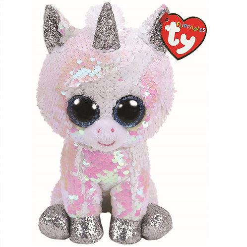 Diamond the Unicorn Flippable Ty Beanie Boo Buddy