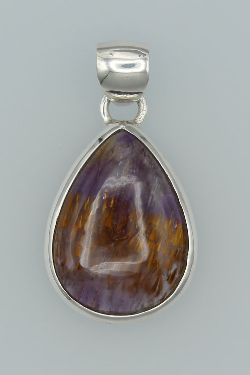Amethyst Cacoxenite Pendant