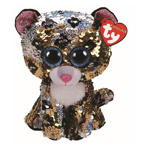 Sterling the Leopard Flippable Ty Beanie Boo