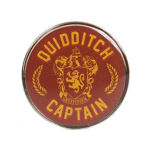 Pin Badge - Quidditch Captain