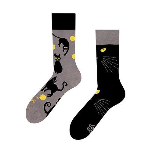 Cat Eyes Good Mood Socks