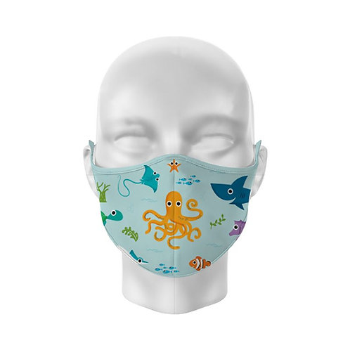 Sealife Splosh Reusable Childs Face Covering