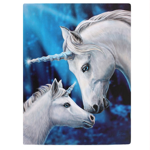 Sacred Love Canvas Plaque