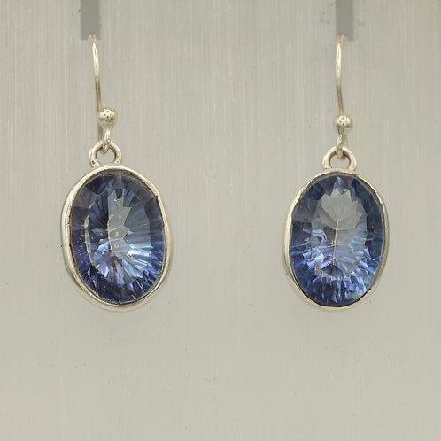Blue Mystic Topaz Earrings