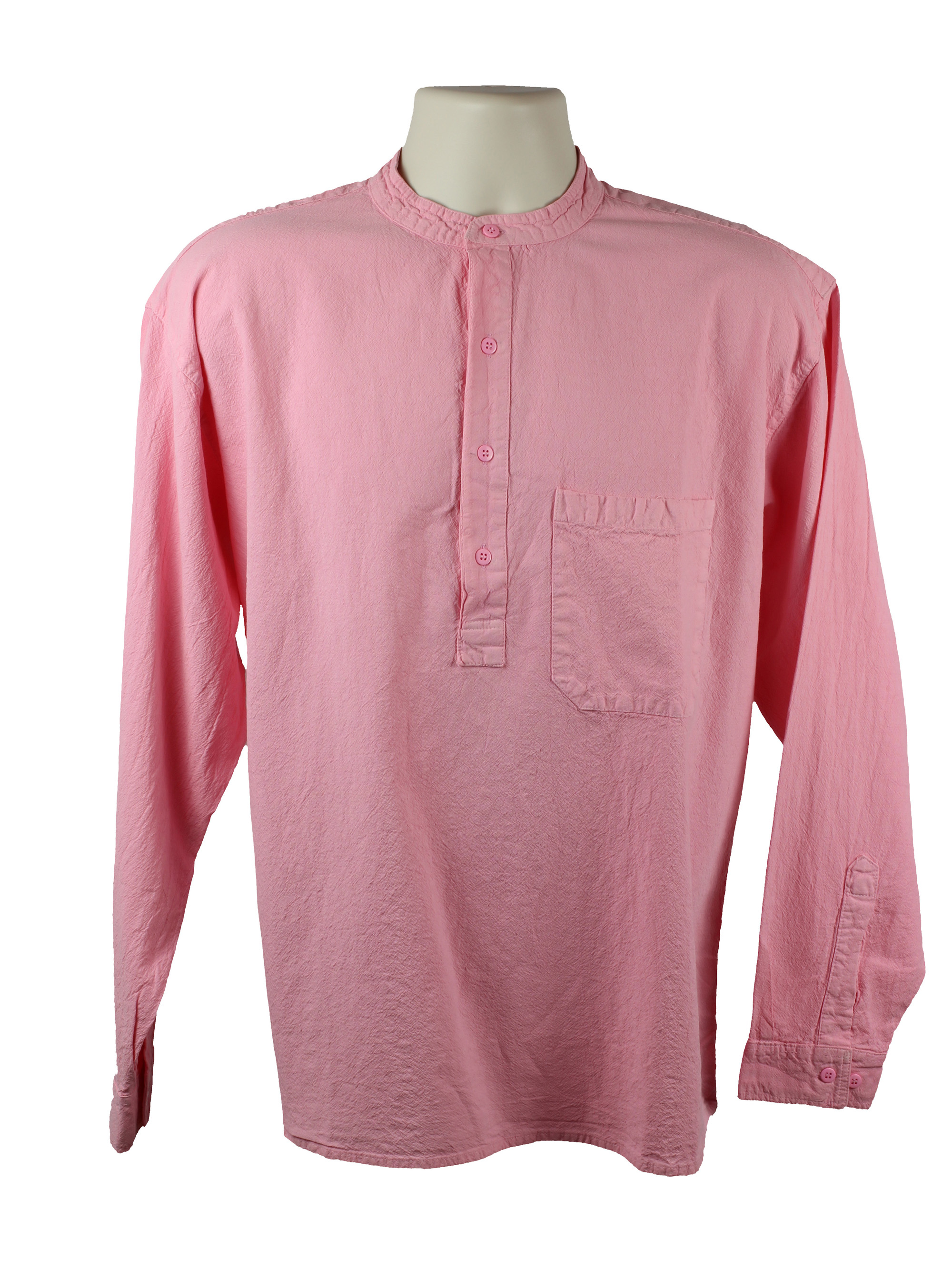 Pink Grandad Shirt
