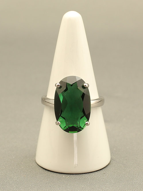 Siberian Emerald Quartz Ring
