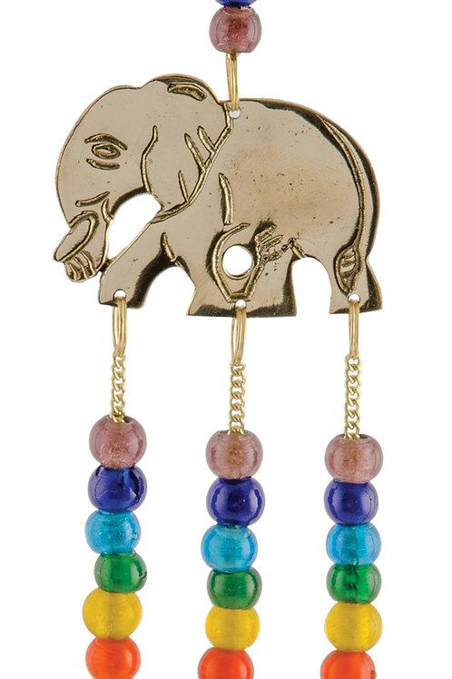 Chakra Elephant  Brass Chime