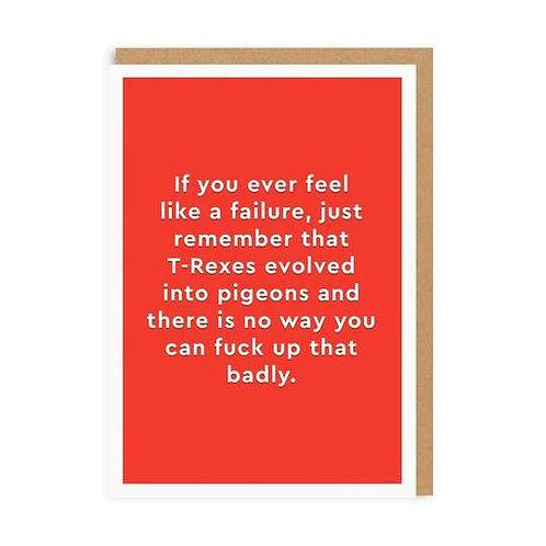 """""""T-Rex"""" Card"""