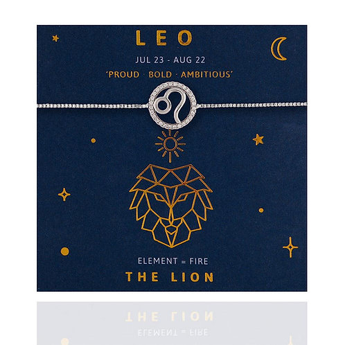 Leo Life Charm Bracelet