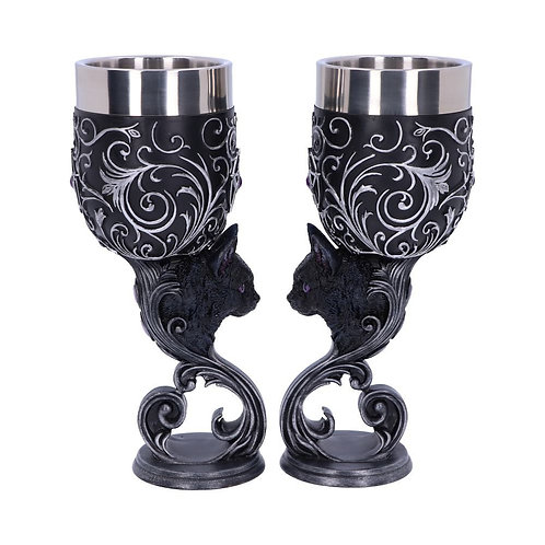 Familiars Love Pair of Goblets