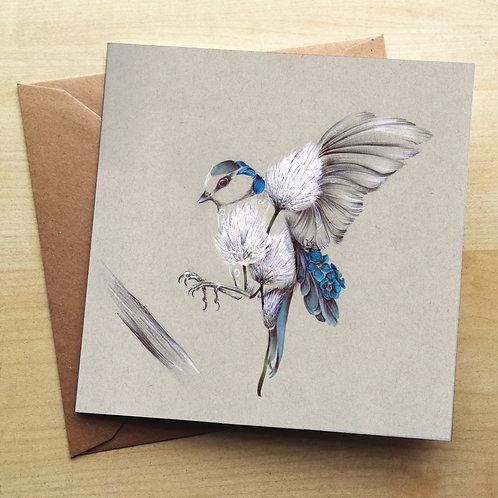 Bird in Flight Card