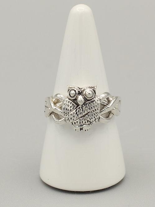 Owl Puzzle Ring