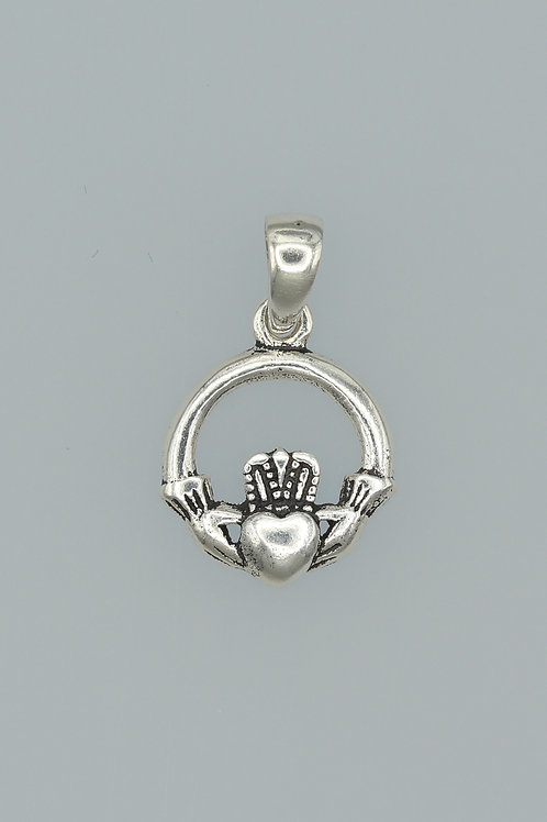 Celtic Claddagh Pendant