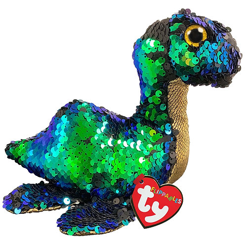Nessie the Loch-Ness Monster Flippable Ty Beanie Boo