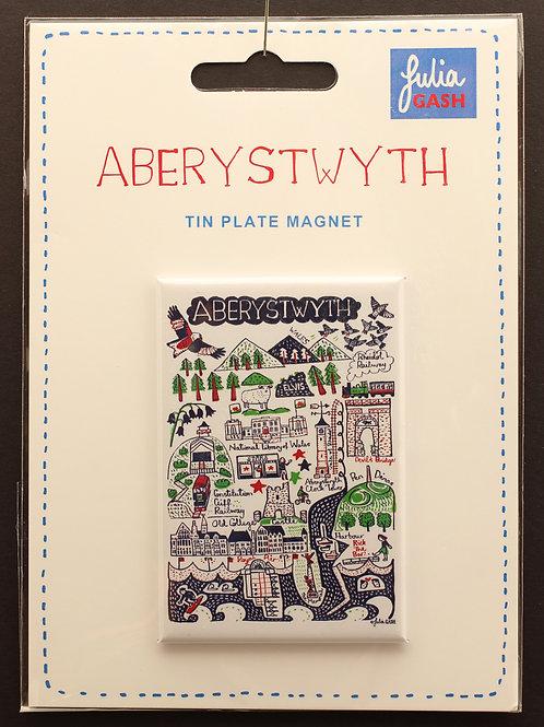 Aberystwyth Fridge Magnet