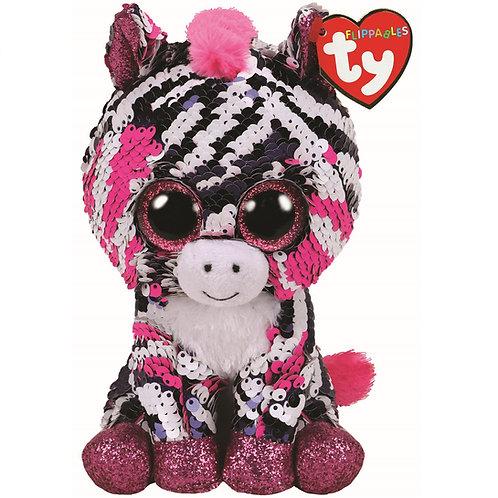 Zoey the Zebra Flippable Ty Beanie Boo