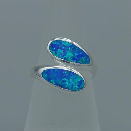 Blue Gilson Opal Ring