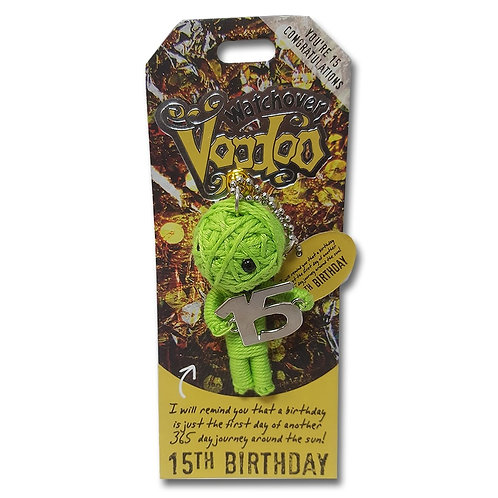 15th Birthday Watchover Voodoo Doll