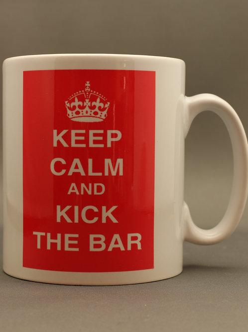 """""""Kick the Bar"""" Mug"""