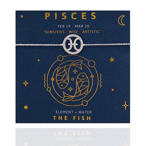 Pisces Life Charm Bracelet