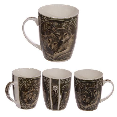 Loyal Companions Mug by Lisa Parker