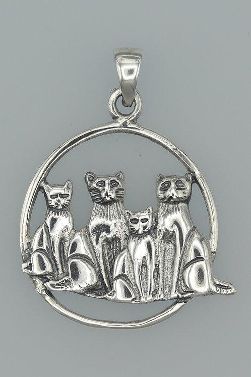 Cats Pendant