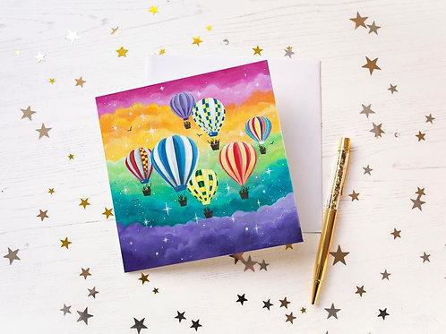 """Community Spirit"" Greetings Card"