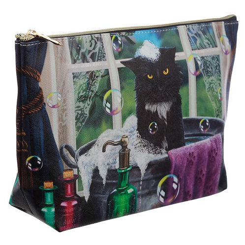 """""""Bath Time"""" Large Cosmetic / Wash Bag by Lisa Parker"""