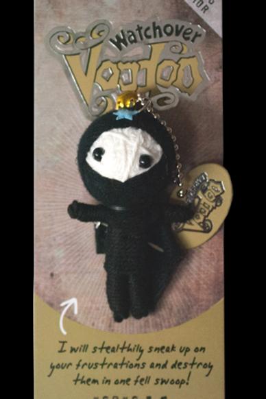 Ninja Watchover Voodoo Doll