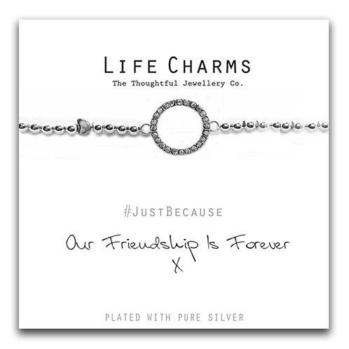 Friendship Forever Life Charm Bracelet