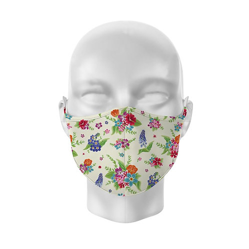 Botanical Floral Reusable Adult Face Covering