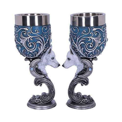 Wild At Heart Pair of Goblets